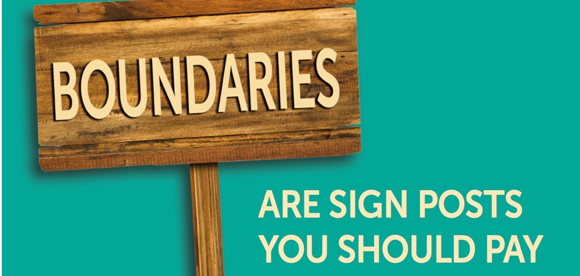 boundaries sign