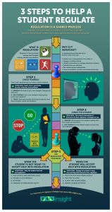 3 Steps to Help a Student Regulate Poster